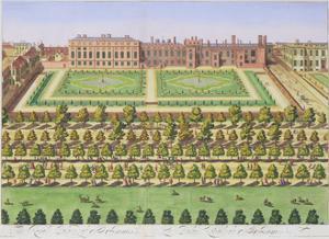 St James's Palace, London, 1730 by Johannes Kip