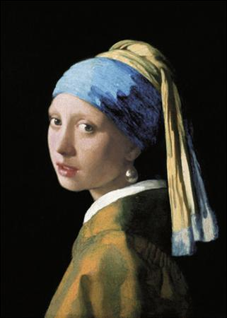 A Girl with a Pearl Earring by Johannes Vermeer
