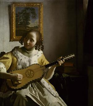 Guitar Player by Johannes Vermeer
