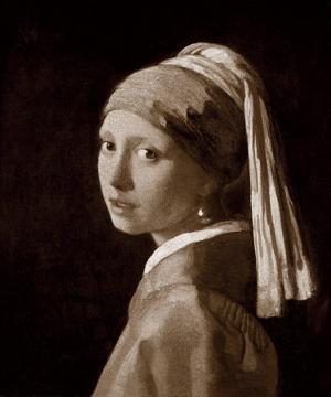 Jeune Fille A La Perle by Johannes Vermeer
