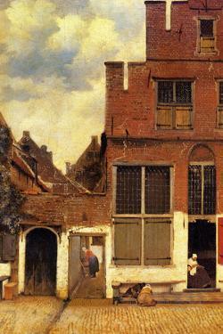 Johannes Vermeer The Little Street by Johannes Vermeer