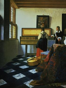 Lady at a Virginal, C1652-1675 by Johannes Vermeer