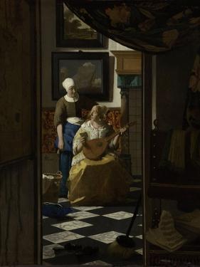 Love Letter by Johannes Vermeer