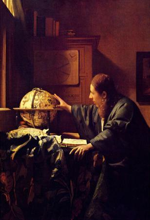 Johannes Vermeer The Astronomer Art Print Poster