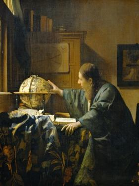 The Astronomer by Johannes Vermeer