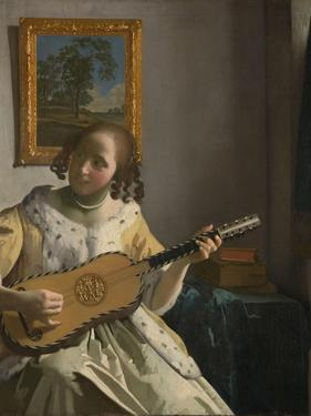 The Guitar Player by Johannes Vermeer