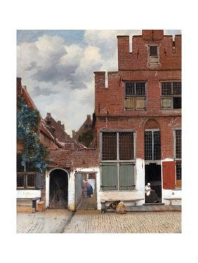 The Little Street (View of Houses in Delft) by Johannes Vermeer