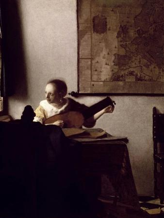 The Lute Player, 1663-1664