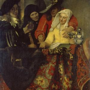 The Procuress, 1656 by Johannes Vermeer