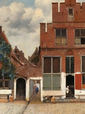 View of Houses in Delft, Known as The Little Street, c. 1658 by Johannes Vermeer