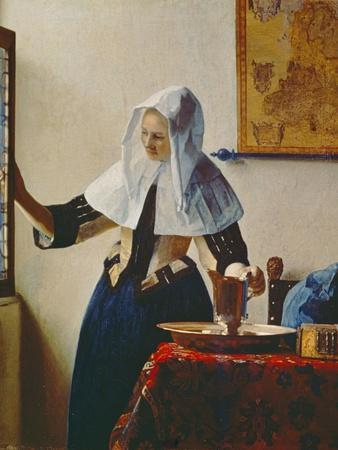 Young Woman with Jug of Water at the Window, about 1663