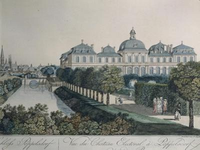 The Palace of the Prince Electors in Poppelsdorf, Near Bonn, 1790