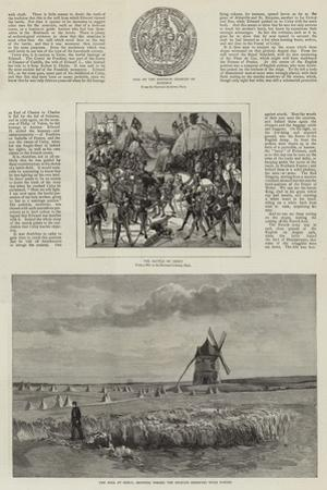 An Artist's Visit to the Battlefields of Crecy and Agincourt
