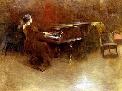At the Piano, 1894