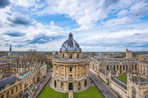 Radcliffe Camera and the View of Oxford from St. Mary's Church, Oxford, Oxfordshire by John Alexander