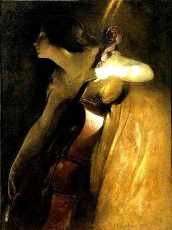 The Cellist, 1898