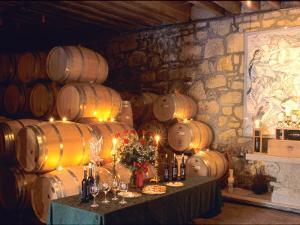 Entrance to the Wine Caves at the Del Dotto Winery, Napa Valley Wine Country, California, USA by John Alves