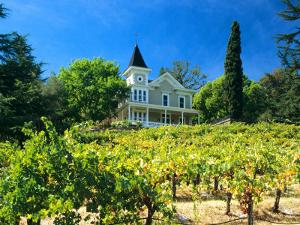 Victorian St. Clement Winery, St. Helen, Napa Valley Wine Country, California, USA by John Alves