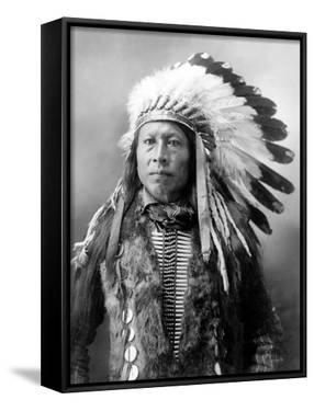 Sioux Brave, C1900 by John Alvin Anderson
