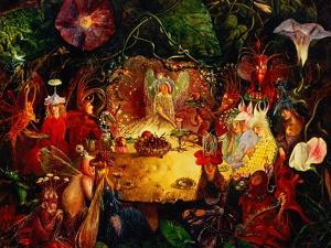 The Fairies' Banquet, 1859 by John Anster Fitzgerald