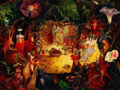 The Fairies' Banquet, 1859