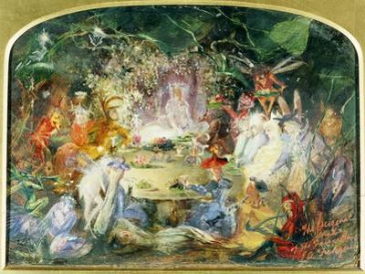 The Original Sketch for the Fairy's Banquet