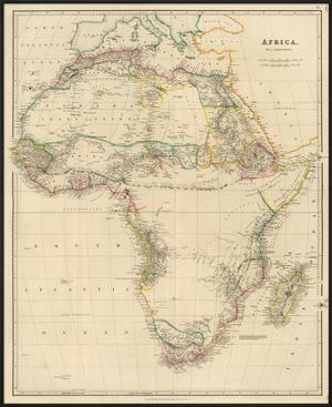 Africa, c.1834 by John Arrowsmith