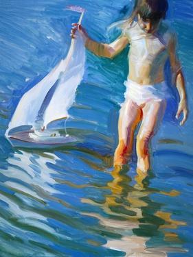 Sailboat Reflections by John Asaro