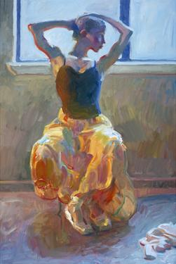 Seated Dancer by John Asaro