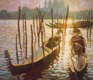 The Grand Canal by John Asaro