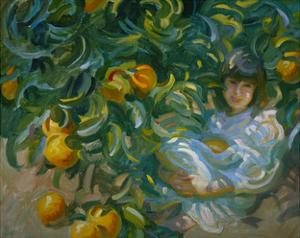 Under the Orange Tree by John Asaro