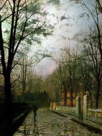 After the Shower by John Atkinson Grimshaw