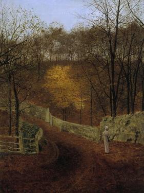 Autumn (Herbst), 1878 by John Atkinson Grimshaw