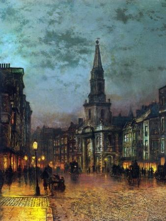 Blackman Street, London, 1885 by John Atkinson Grimshaw