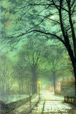 Bonchurch, Ventnor, Isle of Wight by John Atkinson Grimshaw