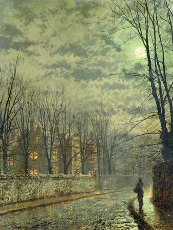 Going Home by Moonlight by John Atkinson Grimshaw