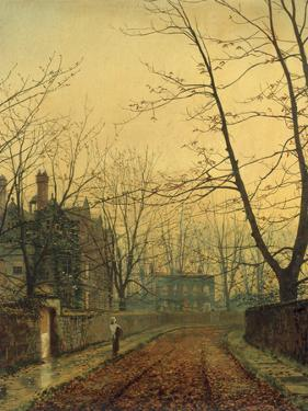 Hampstead - Autumn Gold, 1880 by John Atkinson Grimshaw