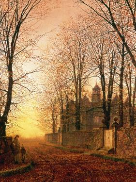 In the Golden Olden Time, C.1870 by John Atkinson Grimshaw