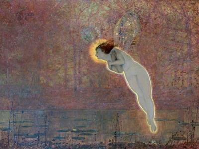 Iris, C1860-1893 by John Atkinson Grimshaw