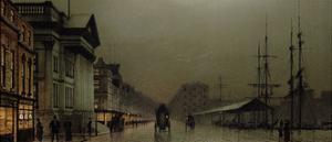 Liverpool, 1893 by John Atkinson Grimshaw