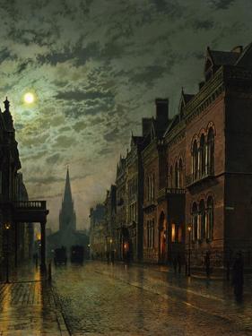 Park Row, Leeds, England by John Atkinson Grimshaw