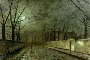 Silver Moonlight, 1880 by John Atkinson Grimshaw