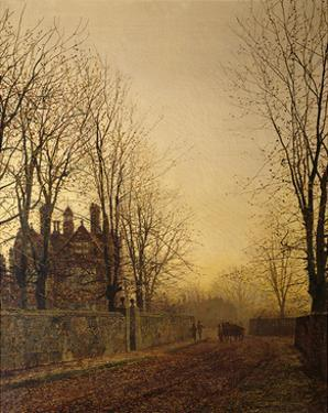 The Last Load by John Atkinson Grimshaw