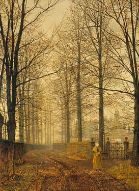 Three Hundred Years Ago by John Atkinson Grimshaw