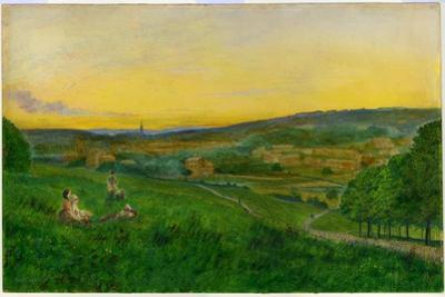 View from Woodhouse Ridge by John Atkinson Grimshaw