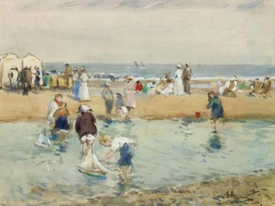 On the Beach, Whitley Bay