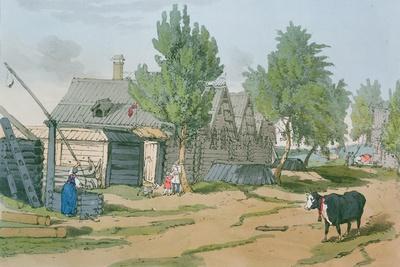 A Russian Village, 1804