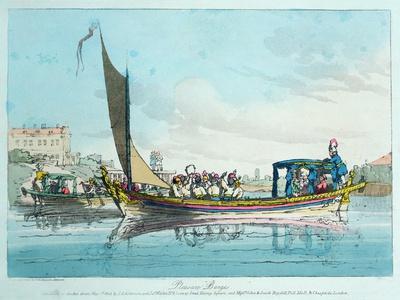 Pleasure Barges, 1803