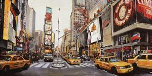 Times Square Perspective by John B. Mannarini
