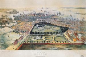 Boston, 1850 by John Bachmann